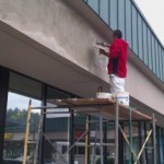 Ambaum Facade Stucco Patching